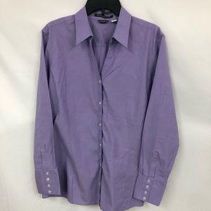 Eddie Bauer Purple blouse 2X y'all